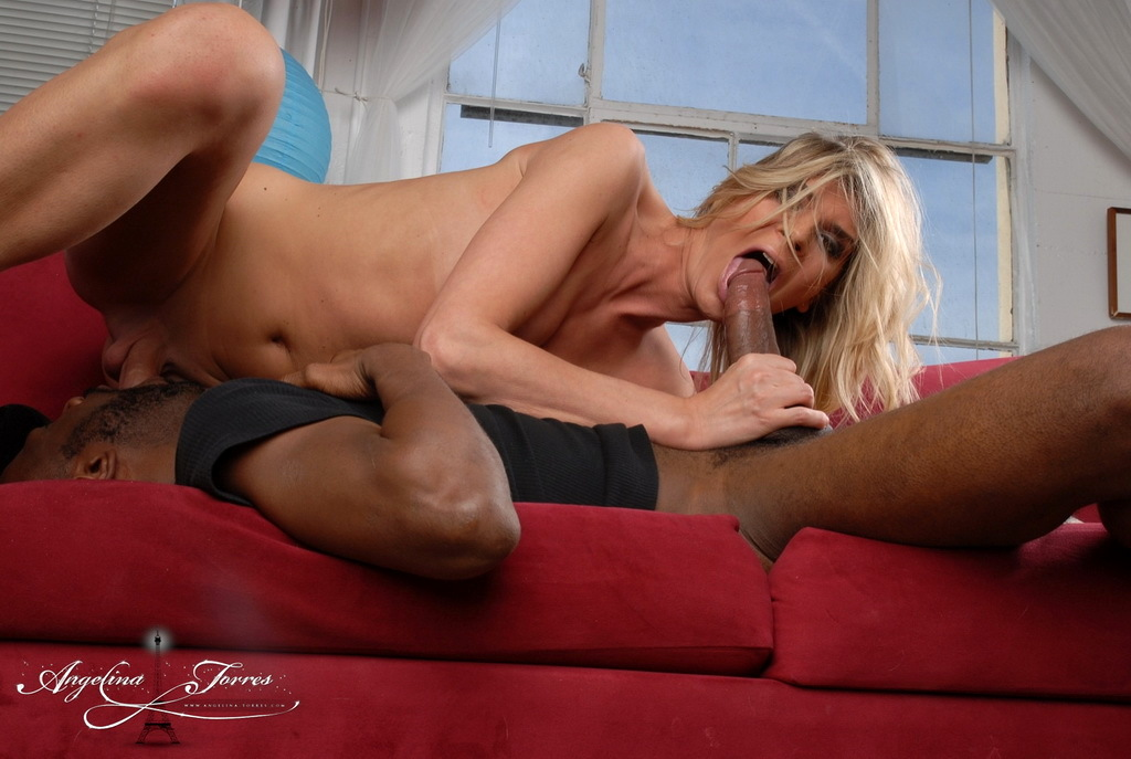 Angelina Sucking Dick An Big Black Dick