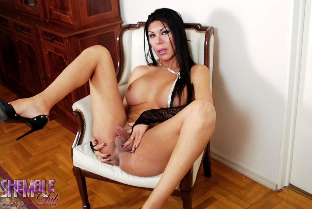Attractive Brunette Andrea Posing Her Sexy Body