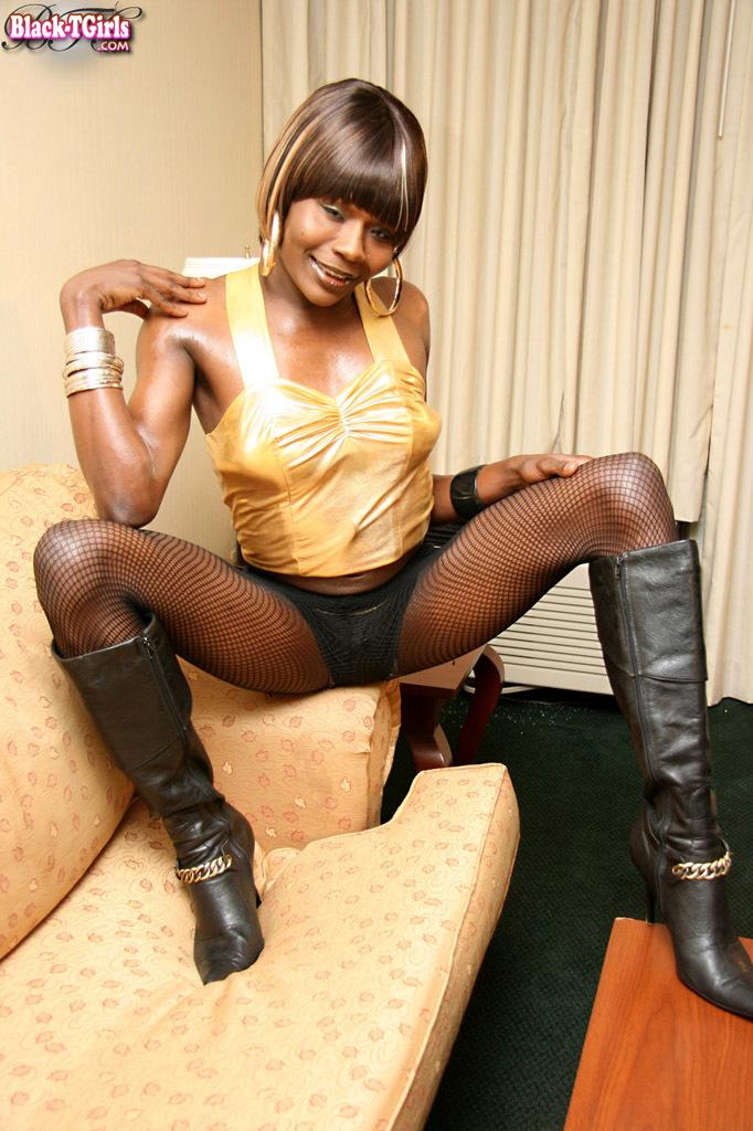 Black Ladyboys Set 806