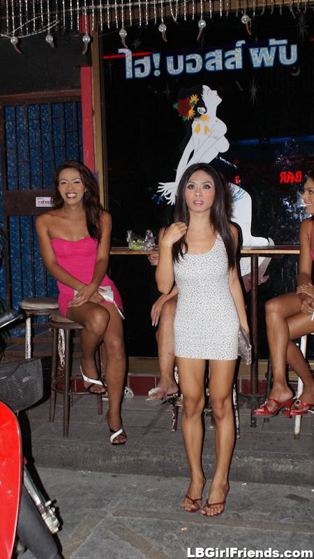 Candids Of Playful Ts Sluts On Walking Street In Patta