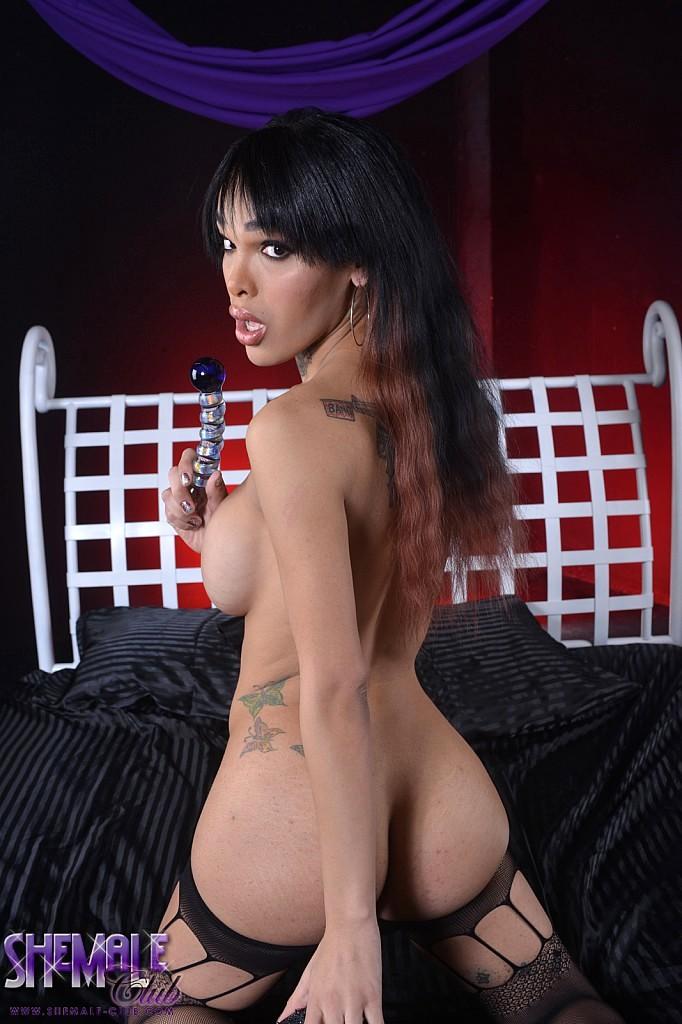 Dirty Adriana Screwing Her Bum