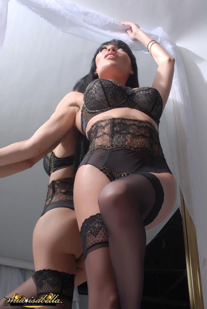 Enormous Tit Mia Strips By The Mirror