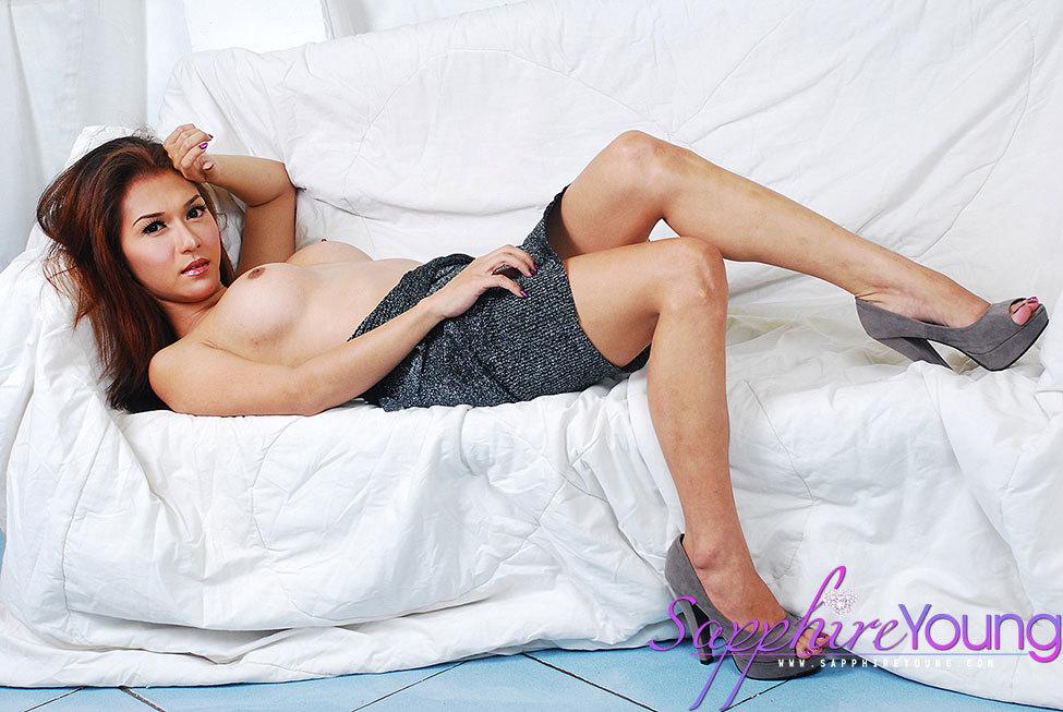 Fresh Exotic Ladyboy Wanks Her Rough Tool