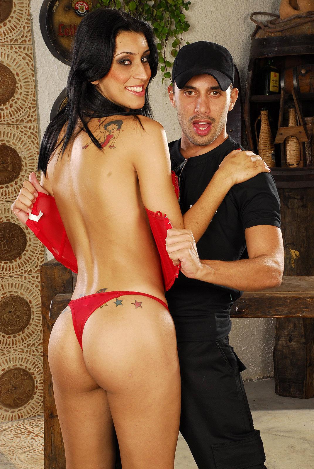 Massive Tit Tgirl Barbara Vasconcellos Gets Destroyed Raw