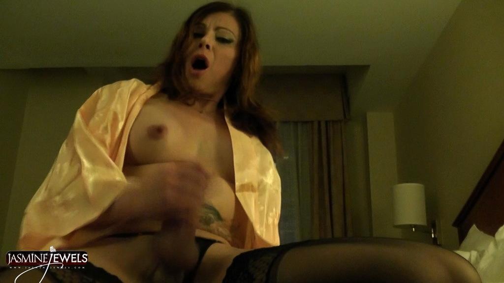 Nasty TMILF Jasmine Wanking Off