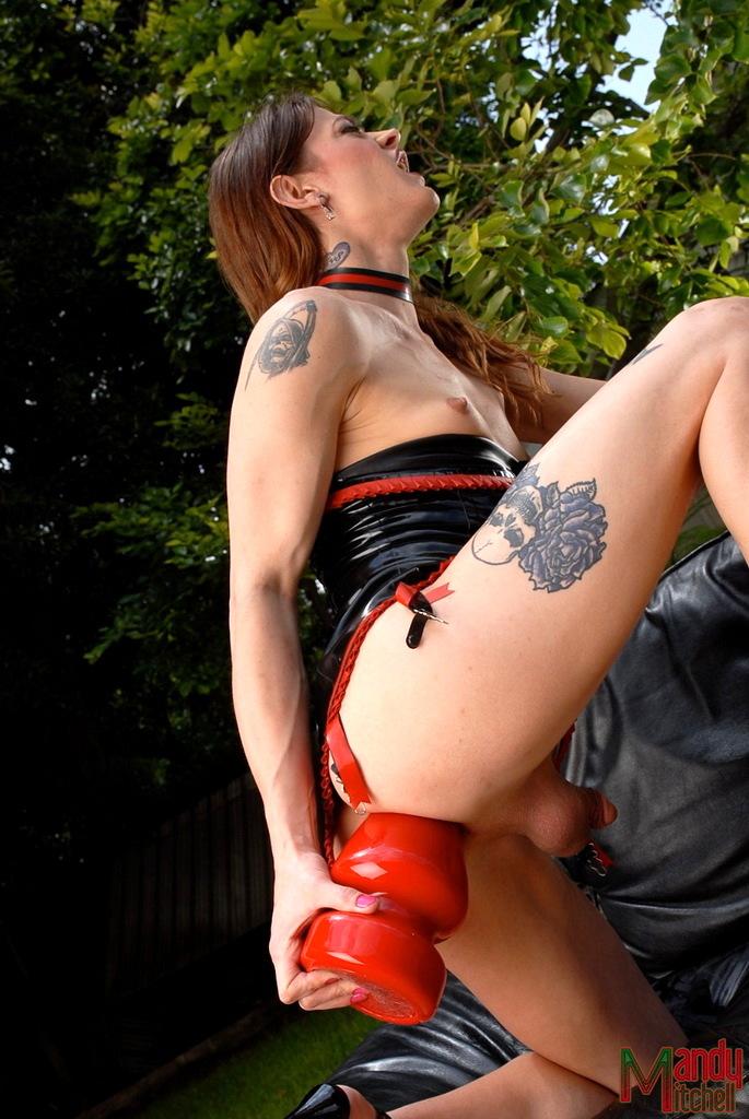 Naughty Kimberly Riding A Nailing Massive Ass Plug