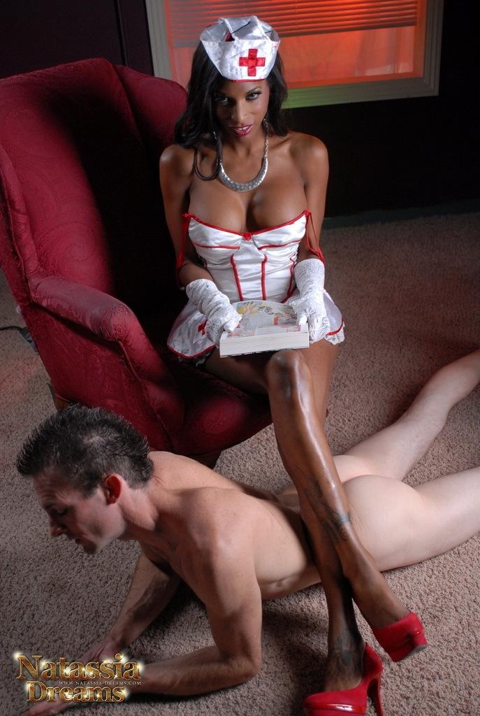 Nurse Natassia Fuck's Her Patient