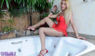 Rock Raw Blonde Agata Strips