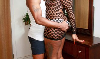 Slutty Black Femboy Gets Pounded
