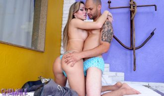 Steamy Isabelli In Rough With A Man
