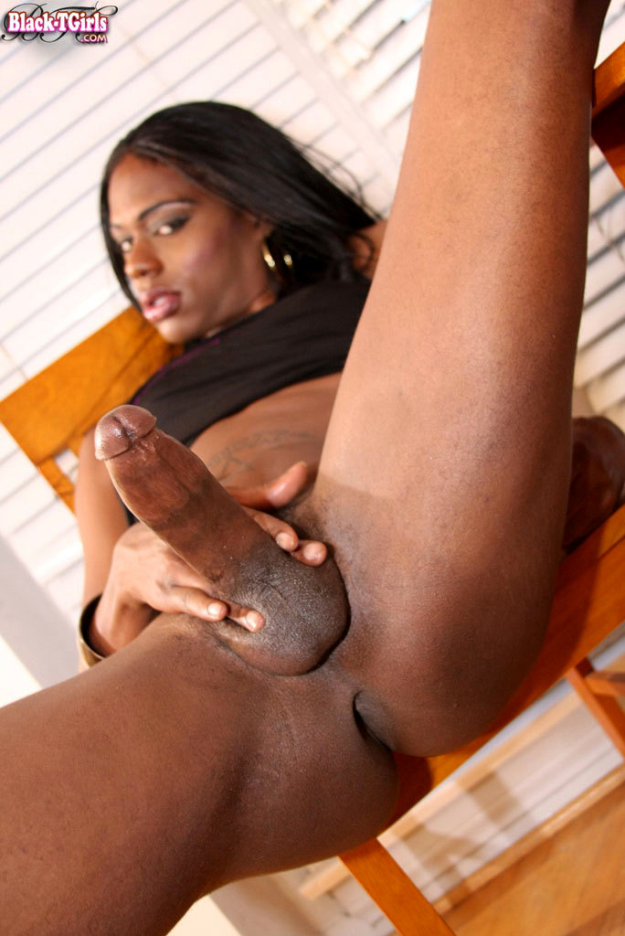 long thin black cock