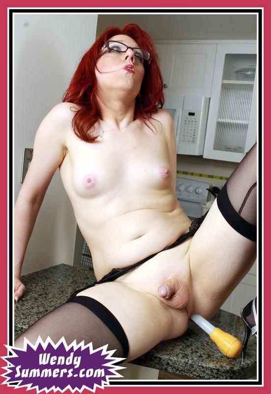 Wendy Bangs A Turkey Baster